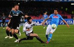 Soccer - UEFA Champions League - Round of 16 - First Leg - Napoli v Chelsea - Stadio San Paolo