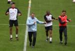 Soccer - International Friendly - England v Netherlands - England Training and Press Conference - Wembley Stadium