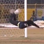 Rene Higuita Re-Enacts 'Scorpion Kick' On Arabic TV (Video)