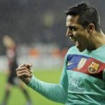 Champions League: Bayer Leverkusen 1-3 Barcelona – Sanchez Breaks Duck To Put Barca In Charge (Photos & Highlights)