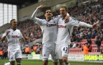 Soccer - Barclays Premier League - Wigan Athletic v Swansea City - DW Stadium