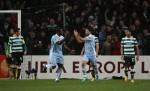 Soccer - UEFA Europa League - Round of 16 - Second Leg - Manchester City v Sporting Lisbon - Etihad Stadium