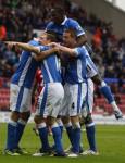 Soccer - Barclays Premier League - Wigan Athletic v West Bromwich Albion - DW Stadium
