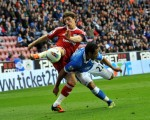Soccer - Barclays Premier League - Wigan Athletic v West Bromwich Albion - DW Stadium