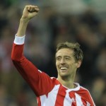 Football GIF: Peter Crouch's Sensational Dipping Volley vs Man City On Infinite Loop