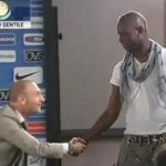 Mario Balotelli Wanders Into Shot, Interrupts New Inter Coach Andrea Stamaccioni's First Press Conference (Video)