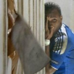 Football GIF: Didier Drogba's Peekaboo Gets 'The Shining' Treatment