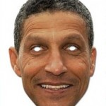 Football Tat: Birmingham Flog &#8216;High Quality&#8217; Chris Hughton Face Mask &#8211; Comes With Free Eye Holes!
