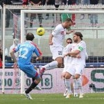 Catania's Giovanni Marchese Scores Fantastic 30-Yard Volley vs Novara (Video)