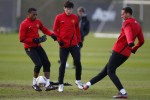 Soccer - UEFA Europa League - Round of 16 - First Leg - Manchester United v Athletic Bilbao - Manchester United Training Session - Carrington Training Ground