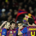 Champions League: Barcelona 7-1 Bayer Leverkusen – 24 Glorious Photos Of Messi And Co. Running Riot
