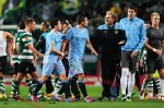 Soccer - UEFA Europa League - Round of 16 - First Leg - Sporting Lisbon v Manchester City - Jose Alvalade