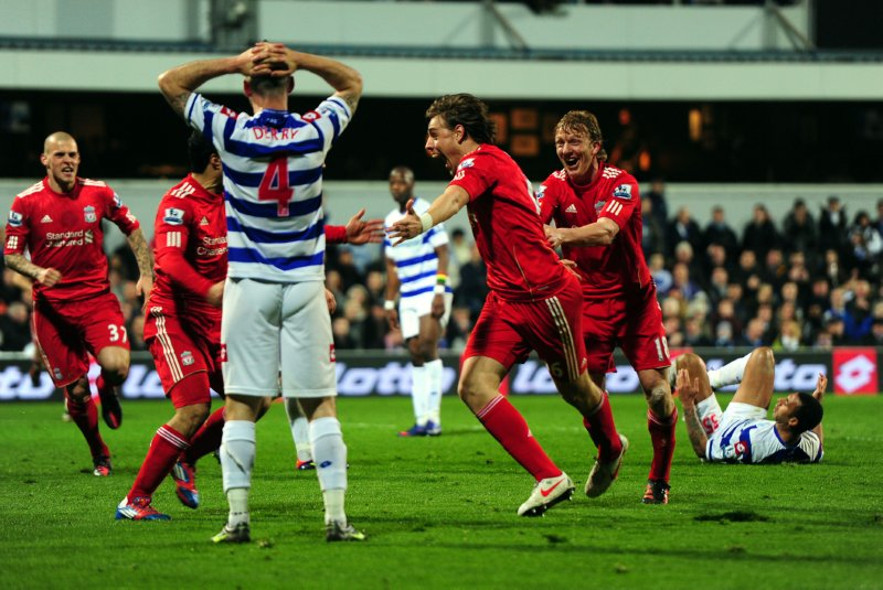 QPR 3-2 Liverpool: Mackie Pounces As 'Pool Bin Two-Goal Lead