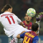 Champions League: AC Milan 0-0 Barcelona – Rossoneri Rearguard Keeps Barca Schtum (Photos & Highlights)