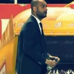Pep Guardiola Accidentally Nails Sevilla Medic With Water Bottle (Video)