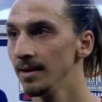 'What The F**k Are You Looking At?' – Zlatan Attacks Female Journalist With Sweaty Headband (Video)