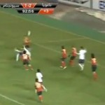 Football GIF: Injury-Time Overhead Kick Equaliser With Overhead Kick Assist