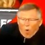 Sir Alex Ferguson Has Subtitutes Board Dropped On His Foot (Video)