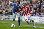 Soccer - Barclays Premier League - Wigan Athletic v Stoke City - DW Stadium