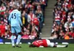 Soccer - Barclays Premier League - Arsenal v Manchester City - Emirates Stadium