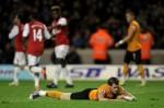 Soccer - Barclays Premier League - Wolverhampton Wanderers v Arsenal - Molineux