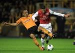 Soccer - Barclays Premier League - Wolverhampton Wanderers v Arsenal - Molineux Stadium