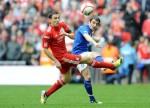 Soccer - FA Cup - Semi Final - Liverpool v Everton - Wembley Stadium