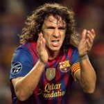Football GIF: Captain Puyol Nixes Alves & Thiago's Dumb Dancing Goal Celebration