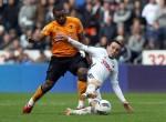 Soccer - Barclays Premier League - Swansea City v Wolverhampton Wanderers - Liberty Stadium