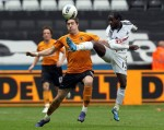 Soccer - Barclays Premier League - Swansea City v Wolverhampton Wanderers - Liberty Stadium