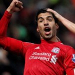 Football GIF: Luis Suarez Nails One From 45+ Yards vs Norwich