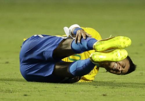 Brazil Colombia Soccer