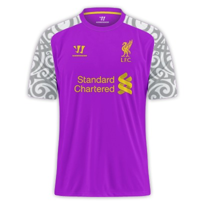 Ghastly Liverpool 2013 Third Kit 'Leaked', Possibly Big Purple