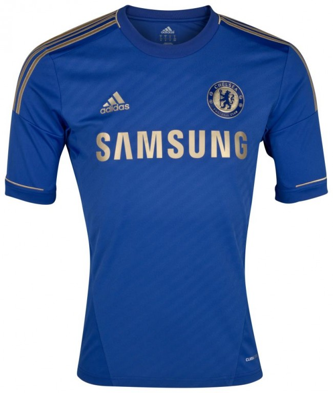 Chelsea Unveil New Adidas Home Kit For 2012 13 – Marked Improvement ... dcb23429e
