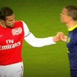 Robin Van Persie Struggles With Gary Caldwell's Simple Handshake Request (Video)