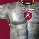 Shit Kits: Reggina Calcio Wear Strip Emblazoned With Fake 'Ancient Greek Statue' Torsos