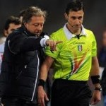 Italian Referee Daniele Doveri Dislocates Own Shoulder Signalling For Free Kick (Video)