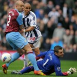 West Brom 0-0 Aston Villa – Villans Scrap For Vital Point At The Hawthorns (Photos & Highlights)