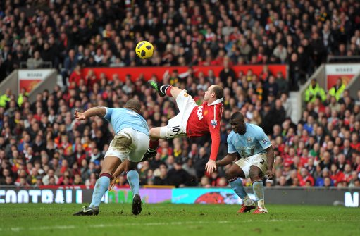 Wayne Rooney Volley Vs Newcastle Wayne Rooney Wonder Volley vs Man City Named Best Ever Premier League