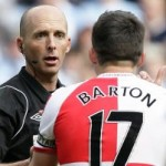 Football GIF: Card-Carrying Pacifist Joey Barton Sees Red, Nails Sergio Aguero
