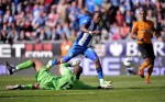 Soccer - Barclays Premier League - Wigan Athletic v Wolverhampton Wanderers - DW Stadium