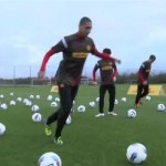Man Utd Stars Hoof 200 Footballs Into Van, Ship Them 4,395 Miles And Hand Them Out To Kenyan Kids (Video)