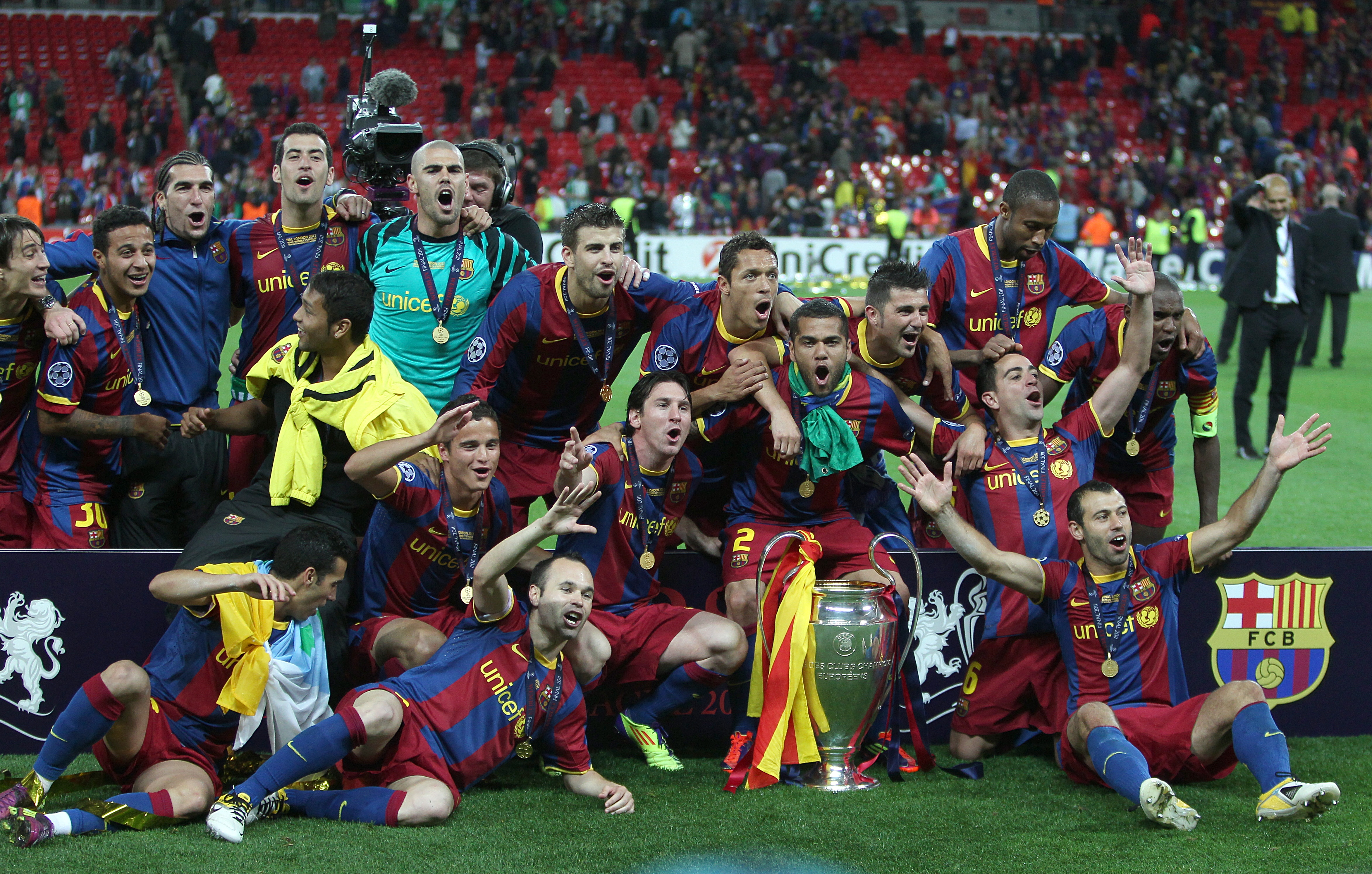 Soccer UEFA Champions League Final Barcelona V Manchester United Wembley Stadium