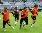 Soccer - UEFA Champions League - Final - Chelsea Training - Allianz Arena