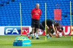 Soccer - International Friendly - Norway v England - England Training Session - Etihad Stadium