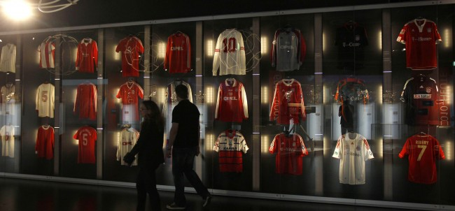 Single Bayern Munich Shirt Goes On Display At New Museum With Photos