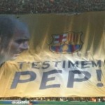 Barcelona Fans Give Guardiola Emotional Send-Off, Unfurl Huge 'T'ESTIMEM PEP!' Banner (Video)