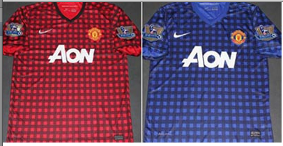Man Utd Post Teaser For Disgusting New Gingham Kit On Facebook Who Ate All The Pies