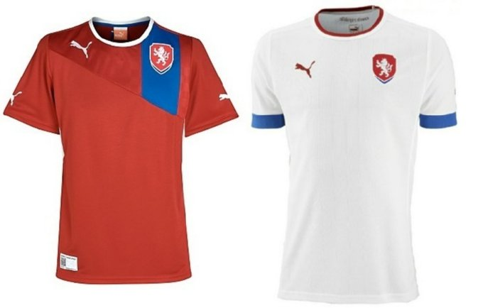 Euro 2012  All 32 Home   Away Kits For Euro 2012 – Your  Cut Out And ... 2e266996d