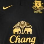 Everton Unveil Stealthy 2012/13 Nike Away Kit &#8211; Black And Gold Bobby Dazzler (Photos)